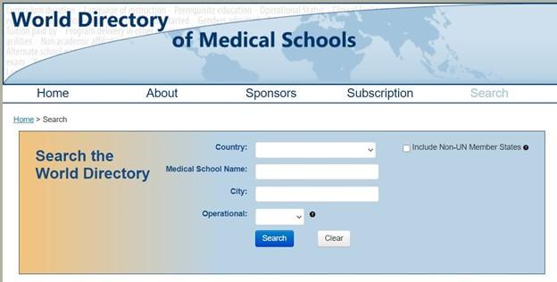 Prior to Registering for USMLE Step1 Verify your School